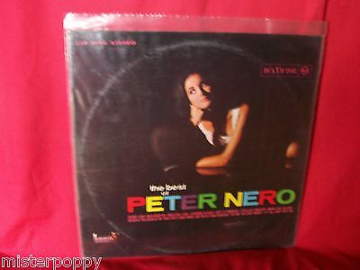 PETER NERO The best of  Living Stereo LP RCA Italiana 1967 EX Sexy