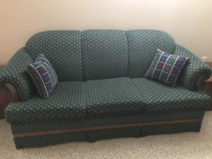 Green 3 Seat Couch