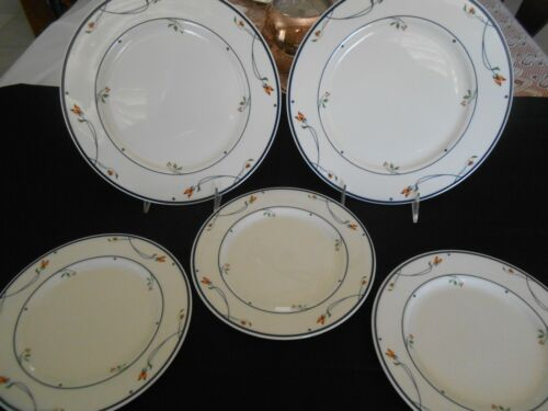 """ARIANA Town&Country by GORHAM 2 Dinner Plate 10 5/8"""" 3 Salad Plates 8 1/2"""""""