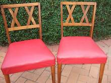 Retro Vintage Mid-century Kitchen/Dining Chairs (2) Sandringham Bayside Area Preview