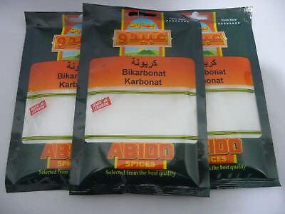 karbonat CARBONATO DE BICARBONATO DE SODIO backtriebmittel bikarbonat - X 3 50g