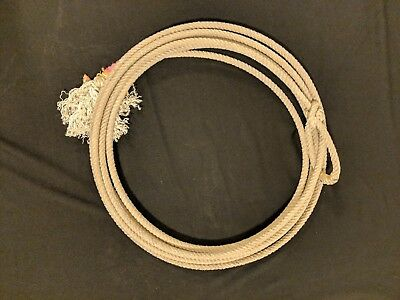 1-Used lariat western cowboy rope decor team rope lasso FREE SHIPPING