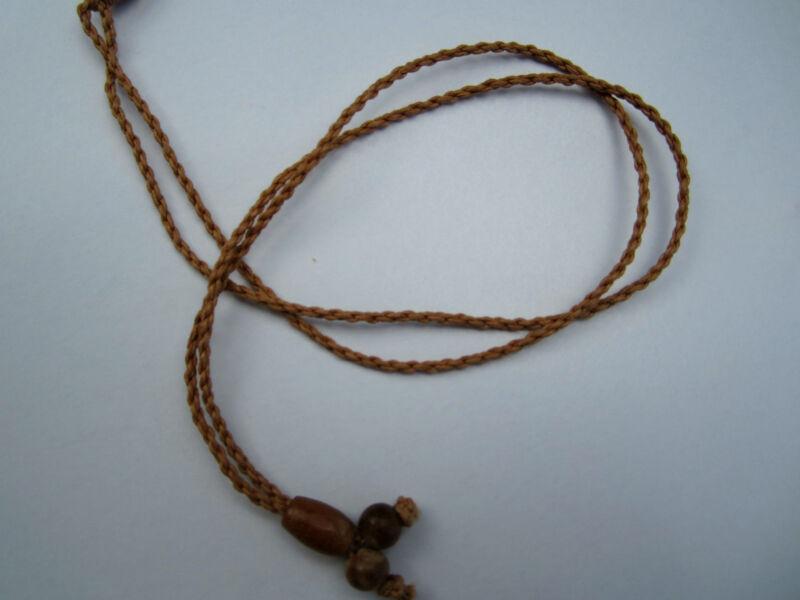 Hawaii Jewelry Fish Hook Bone Carved Pendant Maori Hei Matau New Zealand 35103 3