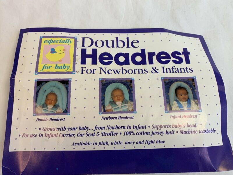 Double Headrest for Newborns and Infants New in Package