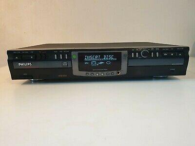 Philips audio CD recordable rewritable CDR775 double speed
