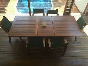 KWILA - JARRAH timber outdoor dining furniture table and chairs Clayfield Brisbane North East Preview