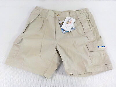 Yamaha Bermuda 54 kurze Hose Shorts beige H07-1A100-2L-0A