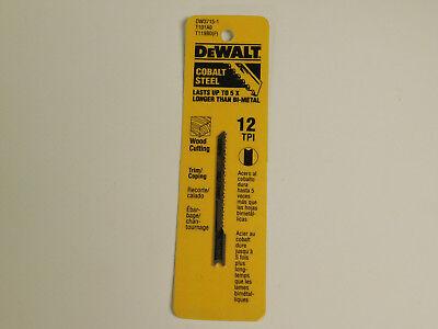 Dewalt 3715-1 Wood Cutting Jigsaw Blade (3