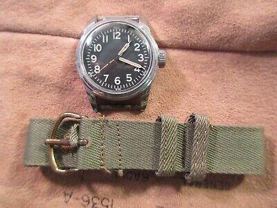 WW2 ALL ORIGINAL ELGIN TYPE A 11 PILOTS HACK WATCH CAL 539 AF 43 16 J