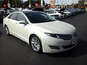 2014 LINCOLN MKZ PANORAMIC SUNROOF, NAVIGATION SYSTEM, REAR VIEW