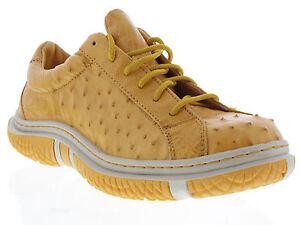 Fancy Dress Shoes Yellow Mens