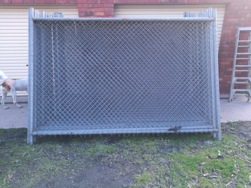 Temporary fence panels 4 left | Building Materials | Gumtree ...