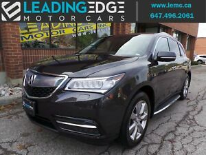 2015 Acura MDX Elite Package navigation, driver assist, wide...