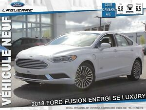 2018 Ford Fusion Energi SE Luxury**CUIR*CAMERA*BLUETOOTH**