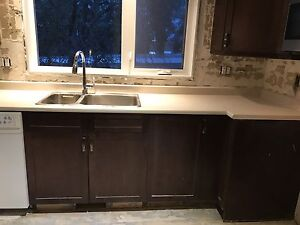 Countertop, Sink and Faucet