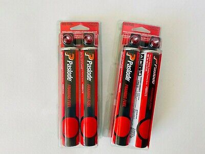 Lots Of 2 Paslode 816000 Tall Red Fuel Cell 2 Pack Framing Fuel New