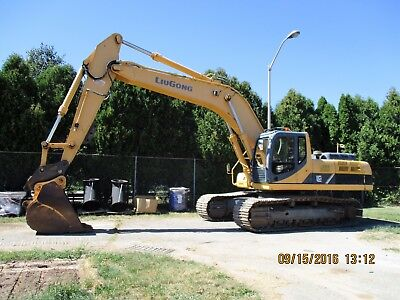 2010 Luigong 936 D Excavator Rental Available Reduced