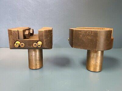 Set Of 2 Vdi 50 Tool Holder Coolant-through Cnc Lathe Machining