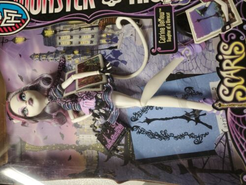 Mattel 2012 Monster High Catrine DeMew Scaris City Of Frights Doll New - $49.98