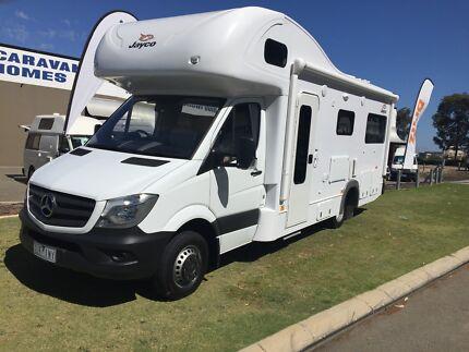 2017 Mercedes Sprinter Traveller 6 berth Wangara Wanneroo Area Preview