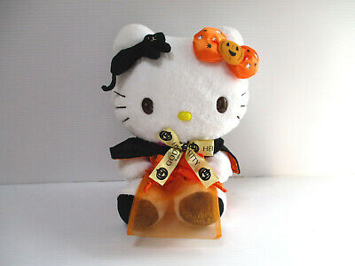 Hello Kitty 2017 Godiva Halloween Plush Doll Sanrio combine save ship Japan Used - Halloween Fabric 2017