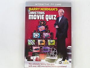 New & Sealed! Barry Norman's Christmas Movie Quiz DVD Game Ideal Stocking Filler