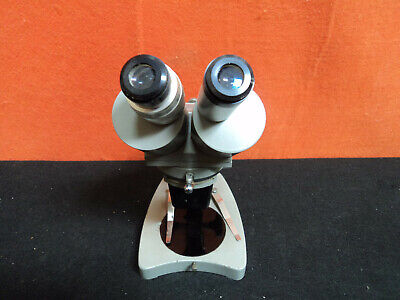 Vintage Unitron Msf 71385 Microscope With Case