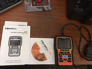 Foxwell OBD 2 scanner $100 Tea Tree Gully Tea Tree Gully Area Preview
