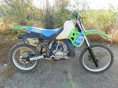 '89 Kawasaki KX250 KX 250 Vintage MX MotoCross Moto-X 46mm Forks Pro-Circuit