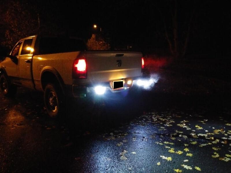 For Chevrolet Silverado 1500 2500 3500 05-14 LED Reverse License Cargo Light Kit