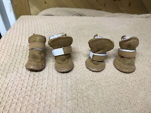 Brand new small dog winter boots obo