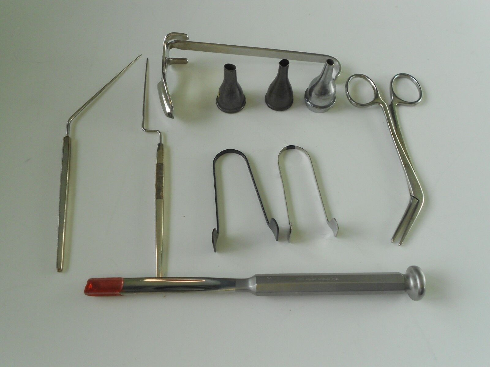 10 x Downs,and Other Vintage/Later Surgical/Medical Tools Surgeon Instruments (02)