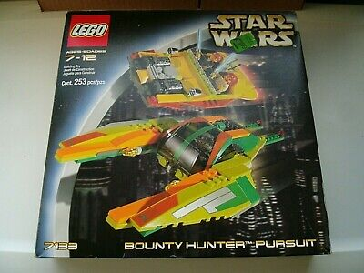LEGO STAR WARS RARE SEALED 7133 BOUNTY HUNTER PURSUIT 2002 Zam Wesell Minifig