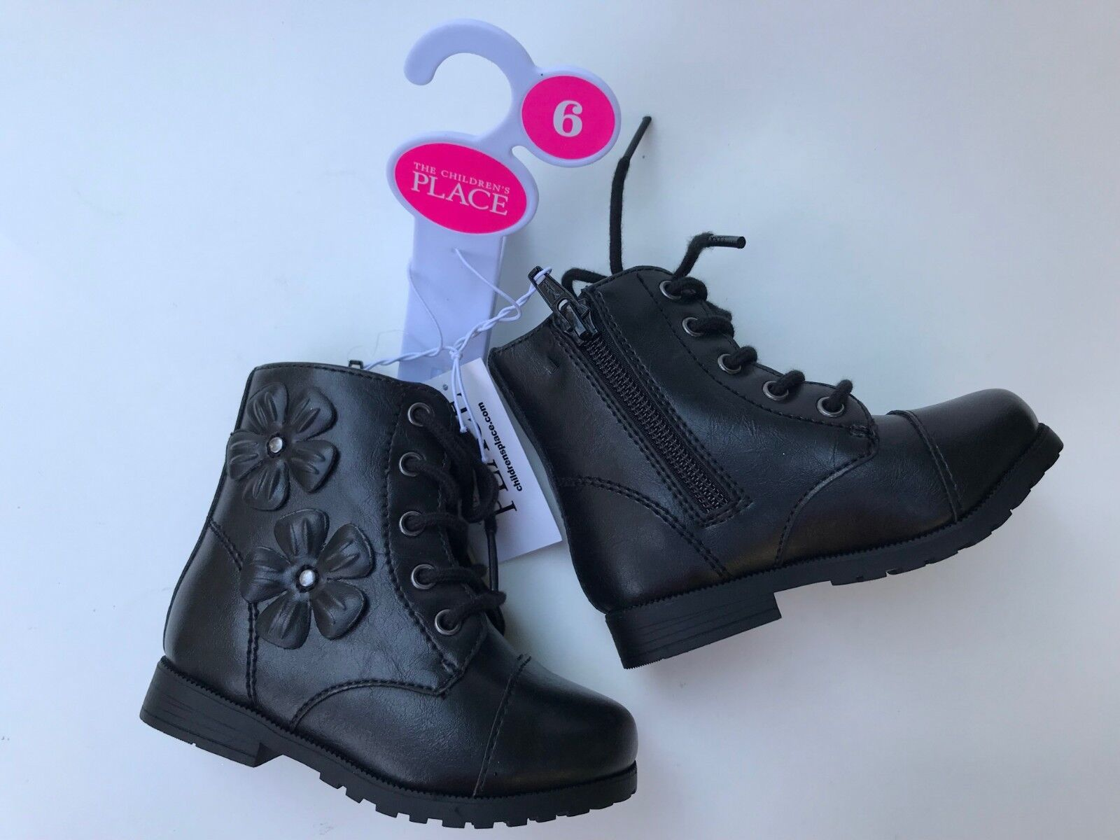 The Children's Place Toddler Girl's Black Boots