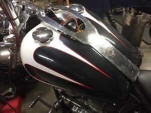 Harley evo softail paint set