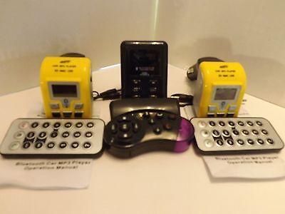"MP3 ""3 each"" MP3 Player Bluetooth Phone FM Transmitter for SD MMC USB Card"