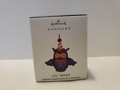 2020 Lil' Little Hoot Owl Halloween Miniature Keepsake Ornament