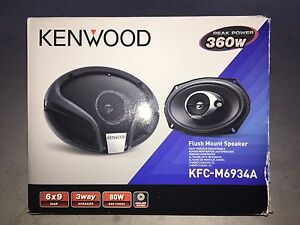 Kenwood speakers Doubleview Stirling Area Preview