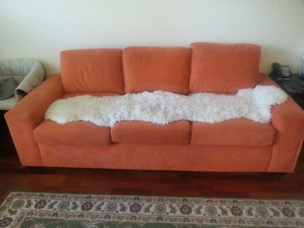 Sofa set 3 sitter and single one Lane Cove Lane Cove Area Preview