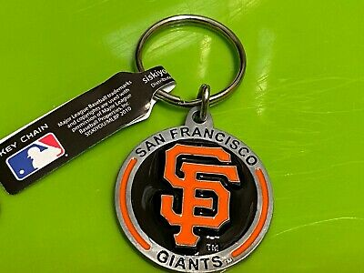 NEW San Francisco Giants Pewter Keychain MLB METAL KEY CHAIN FREE S/H !! San Francisco Giants Keychain