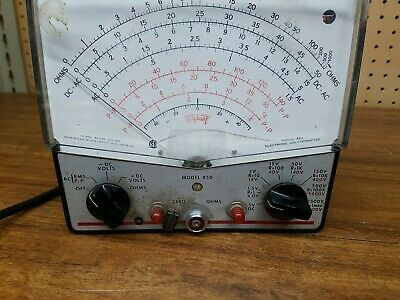 Triplett Model 850 Analog Volt Meter