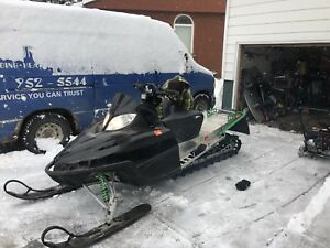 Arctic cat M-8 turbo