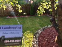 Lawn service, sodding, fall clean up, call a&j today
