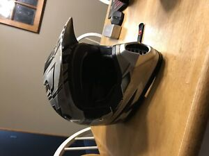 Used Kids Large Fox Helmet