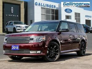 2018 Ford Flex ECOBOOST LIMITED w/MULTIPANEL ROOF AND ADAPTIVE C