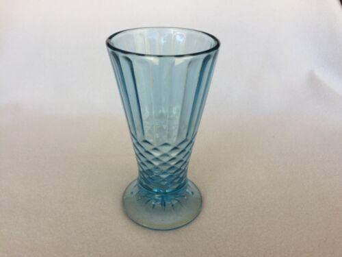 Blue Aunt Polly Depression Glass Vase U.S. Glass Company