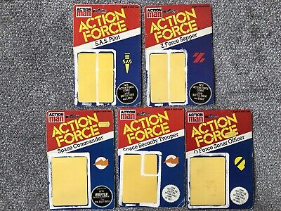 Action Force Backing Cards Palitoy Gi Joe