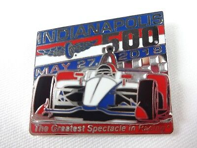 2018 Indianapolis 500 102ND Runing Car Mount Collector Lapel Pin Indy500 IndyCar