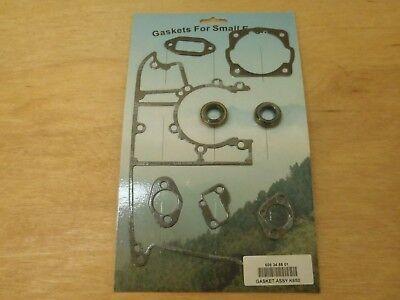 Gasket Set Crankshaft Seals For Husqvarna Partner K650 K700 Concrete Saw New