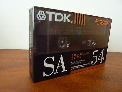 TDK SA 54 audiokassette cassette audio tape sealed
